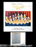 Autographs, Friz Freleng Signed Limited Edition Book
