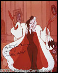 Autographs, Betty Lou Gerson Signed Cruella De Vil Photo