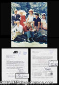 Autographs, Gilligan's Island Cast Signed Contract Set