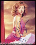 Autographs, Jennifer Grey Signed 8 x 10 Photo
