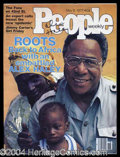 Autographs, Alex Haley Signed People Magazine
