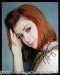 Autographs, Alyson Hannigan Signed 8 x 10 Photo