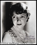 Autographs, Helen Hayes Signed 8 x 10 Photo