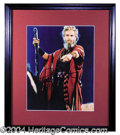 Autographs, Charlton Heston Signed 8 x 10 Photograph