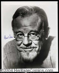 Autographs, Burl Ives Signed 8 x 10 Photograph