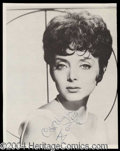 Autographs, Carolyn Jones Signed Photo