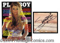 Autographs, Jordan Signed September 2002 Playboy