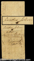 Autographs, Dorothea Jordan Rare Signed Document