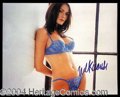 Autographs, Melina Knauss Sexy Signed 8 x 10 Photo