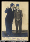Autographs, Laurel & Hardy Vintage Signed Photograph