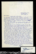 Autographs, Stan Laurel Typed Letter Signed