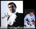 Autographs, George Lazenby Signed Bond Photograph