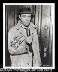 Autographs, Jack Lemmon Signed 8 x 10 Photograph