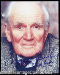 Autographs, Desmond Llewelyn Signed Photograph