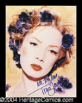 Autographs, Traci Lords Signed 8 x 10 Photo