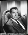 Autographs, Fred MacMurray Vintage Signed Photo