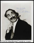 Autographs, Groucho Marx Signed 8 x 10 Photo