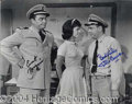 Autographs, McHale's Navy Borgnine & Conway Signed Photo