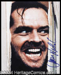 Autographs, Jack Nicholson The Shining Signed Photo