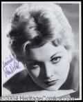 Autographs, Kim Novak Signed 8 x 10 Photo