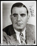 Autographs, Pat O' Brien Signed 8 x 10 Photograph