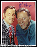 Autographs, The Odd Couple Randall/Klugman Signed Photo
