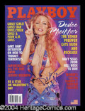 Autographs, Dee Dee Pfeiffer Signed February 2002 Playboy