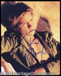 Autographs, River Phoenix Rare Signed 8 x 10 Photo