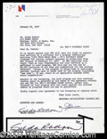 Autographs, Gilda Radner Signed SNL Document