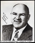 Autographs, Hal Roach Signed 8 x 10 Photo