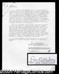 Autographs, Gene Rodenberry Rare Signed Contract