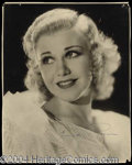 Autographs, Ginger Rogers Vintage Signed Photograph