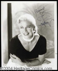 Autographs, Ginger Rogers Signed 8 x 10 Photograph