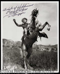 Autographs, Roy Rogers Signed 8 x 10 Photograph