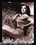 Autographs, Jane Russell Signed 16 x 20 Photograph