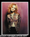 Autographs, Kyra Sedgwick Attractive Signed 8 x 10 Photo