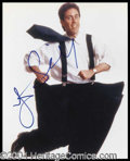 Autographs, Jerry Seinfeld Signed 8 x 10 Photo