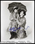 Autographs, Singin' In The Rain Group Signed Photo