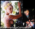 Autographs, Elke Sommer Topless Signed Photograph