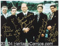 Autographs, The Sopranos Cast Signed 8 x 10 Photograph