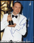 Autographs, Kevin Spacey Signed 8 x 10 Photo