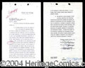 Autographs, Jimmy Stewart Signed Harvey Contract!