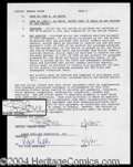 Autographs, Sharon Stone Signed Document