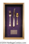 Autographs, Titanic Used Silverware Set From Filming