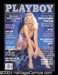 Autographs, Shannon Tweed Signed January 1998 Playboy