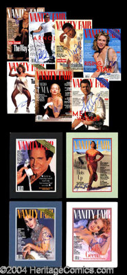 Vanity Fair Signed Magazine Cover Collection - The covers included in this lot are as follows: Madonna (2 in total--Apri...