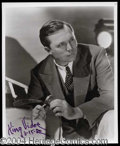 Autographs, King Vidor Signed 8 x 10 Photo