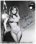 Autographs, Raquel Welch Sexy Signed Photograph