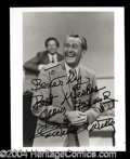 Autographs, Lawrence Welk Signed 8 x 10 Photograph