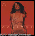 Autographs, Aaliyah Beautiful Signed Album